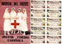 Picture of SPANISH CIVIL WAR RATION CARD AND POSTER – Nurses at the Front