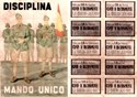 Picture of SPANISH CIVIL WAR RATION CARD AND POSTER - Disciplina
