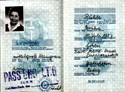 Bild von DDR:  EAST GERMAN PASSPORT – RUHLE, ERIKA  (1970)