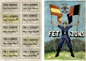 Picture of SPANISH CIVIL WAR RATION CARD AND POSTER – F.E.T. and J.O.N.S.