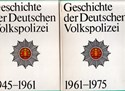 Picture of THE HISTORY OF THE DDRs PEOPLE'S POLICE FROM 1945 - 1975 - TWO VOLUME SET  (1979/1983)