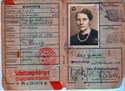 Picture of KENNKARTE #35 - SCHUTZANGEHÖRIGER BROMBERG  (issued 07 September 1944)