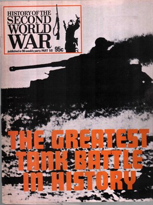 Bild von HISTORY OF THE SECOND WORLD WAR - PART 50  (1974)  (THE GREATEST TANK BATTLE IN HISTORY)