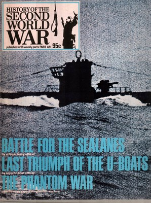 Picture of HISTORY OF THE SECOND WORLD WAR - PART 49  (1974)  (BATTLE FOR THE SEALANES)