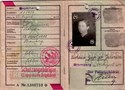Picture of KENNKARTE #64 - SCHUTZANGEHÖRIGE BROMBERG (issued 24 August 1944)