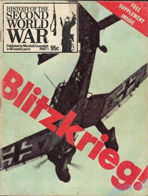Picture of HISTORY OF THE SECOND WORLD WAR - PART 01  (1973)  (BLITZKRIEG)