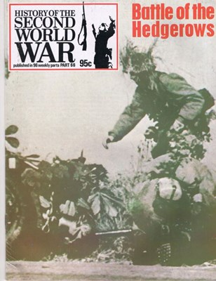 Picture of HISTORY OF THE SECOND WORLD WAR - PART 66  (1974)  (BATTLE OF THE HEDGEROWS)