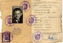 Picture of AUSTRIA:  IDENTITY CARD ISSUED IN OCCUPIED VIENNA  (FELLNER, KARL - 1951)