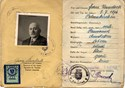 Picture of AUSTRIA:  IDENTITY CARD ISSUED IN OCCUPIED AMSTETTEN  (KERNSTOCK, FRANZ - 1946)