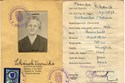 Picture of AUSTRIA:  IDENTITY CARD ISSUED IN OCCUPIED AMSTETTEN  (CIKANEK, VERONIKA - 1946)