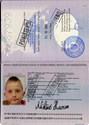 Picture of BOSNIA AND HERZEGOVINA:  PASSPORT - NIKSIC, HARUN  (2008)