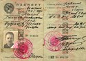Picture of USSR:  NKVD-ISSUED PASSPORT FOR A POLE IN LVIV, UKRAINE  (1940)