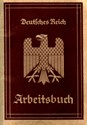Picture of NAZI GERMANY:  ARBEITSBUCH ISSUED IN ESCHWEILER  (Luedes - 1935)
