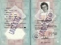 Bild von DDR:  EAST GERMAN PASSPORT - JENNER, MARGOT  (1989)