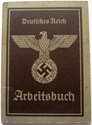 Picture of NAZI GERMANY:  ARBEITSBUCH ISSUED IN KATTOWITZ  (Choroba, Martha - 1941)