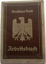 Picture of NAZI GERMANY:  ARBEITSBUCH ISSUED IN LOEBSCHÜTZ  (Miller, Franz - 1935)