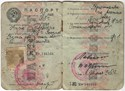 Picture of USSR:  PASSPORT ISSUED TO A UKRAINIAN  (Stryi - 1945)