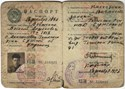 Bild von USSR:  PASSPORT ISSUED TO A UKRAINIAN  (Glinsk - 1956)