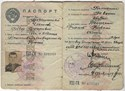 Bild von USSR:  PASSPORT ISSUED TO A RUSSIAN IN THE UKRAINE (Kyiv District - 1951)