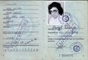 Picture of DDR:  EAST GERMAN PERSONALAUSWEIS - PILLING, ANNA  (1982)