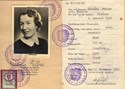 Picture of AUSTRIA:  IDENTITY CARD ISSUED IN OCCUPIED VIENNA  (FELBER, BARBARA - 1952)
