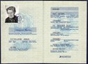 Picture of DDR:  EAST GERMAN PASSPORT - KREHER, JOHANNA  (1987)