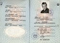 Picture of DDR:  EAST GERMAN PASSPORT - FORSTER, HELMUT  (1986)