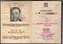Picture of CZECHOSLOVAKIA:  MILITARY ID  (Prague - 1951) (# 4790)