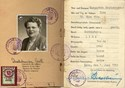 Picture of AUSTRIA:  IDENTITY CARD FOR OCCUPIED AUSTRIA  (Linz - 1953)  (# 4837)