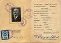 Picture of AUSTRIA:  IDENTITY CARD FOR OCCUPIED AUSTRIA  (Wistelbach - 1949)  (# 4843)