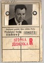 Picture of CZECHOSLOVAKIA:  REDUCED FARE ID  (Prague - 1970)  (# 4967)