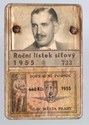 Picture of CZECHOSLOVAKIA:  REDUCED FARE ID  (Prague - 1955)  (# 4979)
