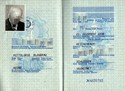 Picture of DDR:  EAST GERMAN PASSPORT  (Dresden - 1983)  (# 5033)