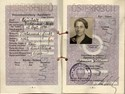 Picture of AUSTRIA:  PASSPORT  (Vienna - 1961)  (# 4704)