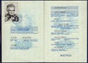 Bild von DDR: EAST GERMAN PASSPORT  (Halle - 1988) (# 5150)
