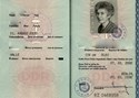 Picture of DDR:  EAST GERMAN PASSPORT  (Berlin - 1990)  (# 5395)