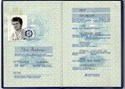 Picture of DDR:  EAST GERMAN PASSPORT  (Dobeln 1987)  (# 5401)