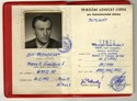 Picture of CZECHOSLOVAKIA:  HUNTING LICENSE  (Prague - 1990)  (# 5441)