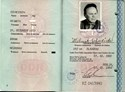 Picture of DDR:  EAST GERMAN PASSPORT  (Berlin - 1990)  (# 5447)