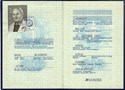 Bild von DDR:  EAST GERMAN PASSPORT  (Riesa - 1988)  (# 5449)