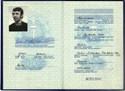 Picture of DDR:  EAST GERMAN PASSPORT  (Berlin - 1973)  (# 5450)