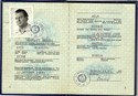 Picture of DDR:  EAST GERMAN PASSPORT  (Dobeln - 1982)  (# 5451)