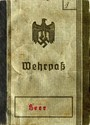 Picture of BULK SALE:  WWII GERMAN WEHRPASS  (Military ID)