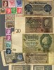 Picture of NAZI GERMANY BANKNOTE, COIN AND STAMP SET # 115