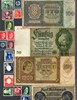 Picture of NAZI GERMANY, CROATIA and POLAND BANKNOTE, COIN AND STAMP SET * C *
