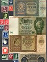 Bild von NAZI GERMANY, CROATIA and POLAND BANKNOTE, COIN AND STAMP SET * C *