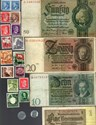 Bild von NAZI GERMANY, CROATIA, POLAND BANKNOTE, COIN AND STAMP SET # 78