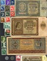 Bild von NAZI GERMANY and CROATIA BANKNOTE, COIN AND STAMP SET # 57