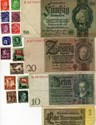 Bild von NAZI GERMANY and CROATIA BANKNOTE, COIN AND STAMP SET # 11