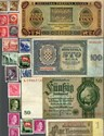 Bild von NAZI GERMANY and CROATIA BANKNOTE, COIN AND STAMP SET * Z *